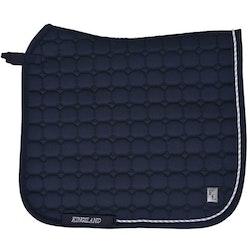 Kingsland Classic Dressur saddle pad (navy)