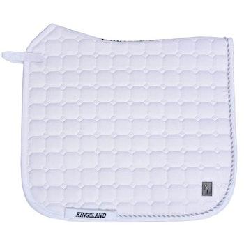 Kingsland Classic Dressur saddle pad (hvit)