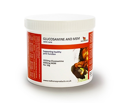 Glucosamine and MSM fra Red Horse