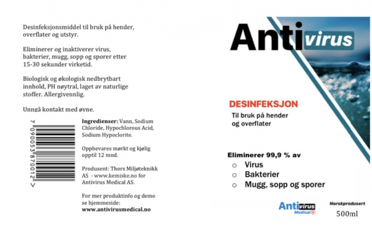 AntiVirus 20 liter dunk