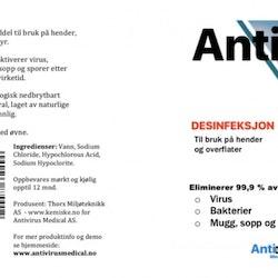 AntiVirus 1liter flaske