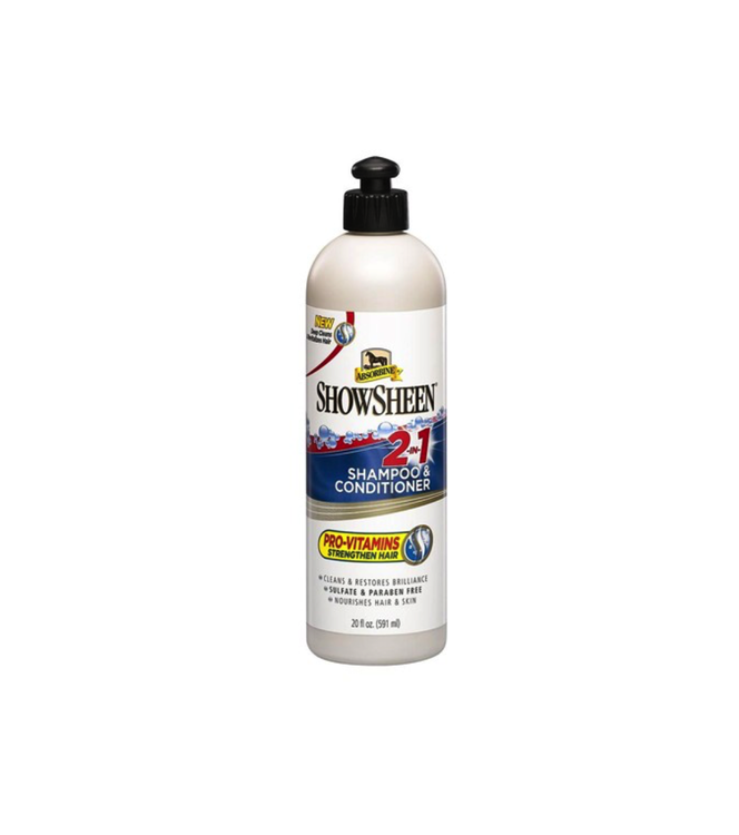 ShowSheen Shampoo & Conditioner 591ml Absorbine