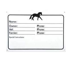 Navne Skilt til hest