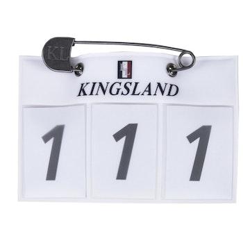 Kingsland Nummerskilt (hvit)