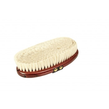 Luxury body brush with goat hair bristles 19,5 x10