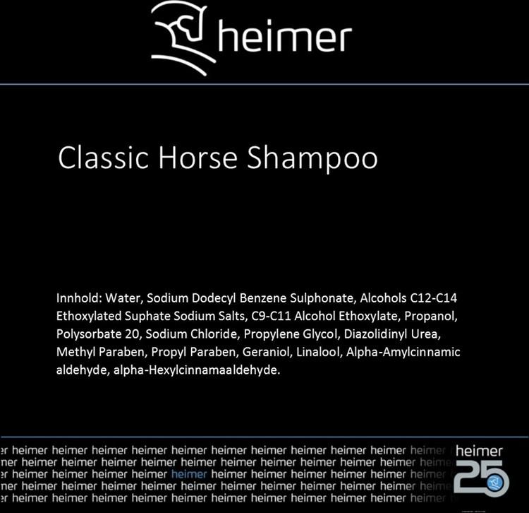 HEIMER CLASSIC HORSE SHAMPOO - 500 ml