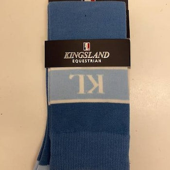 Kingsland DEVON UNISEX COOLMAX KNEE SOCKS Kentucky blue