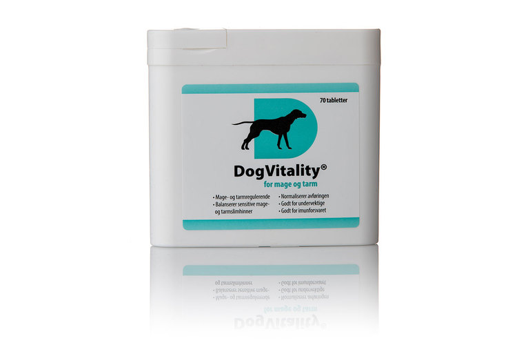 DogVitality® Mage Tarm 70 Tabletter
