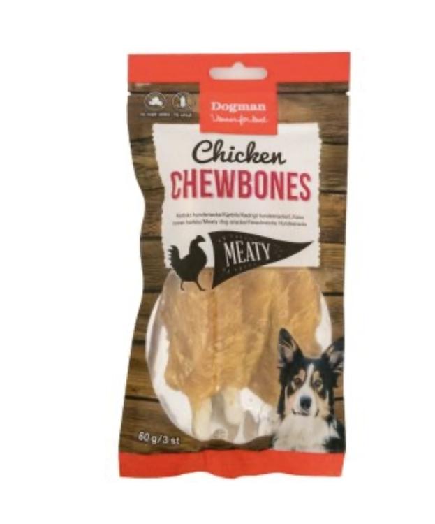 Chicken Chewbones 3 st (60g)
