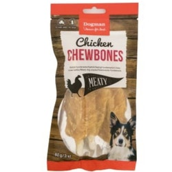 Chicken Chewbones 3 st (60g)