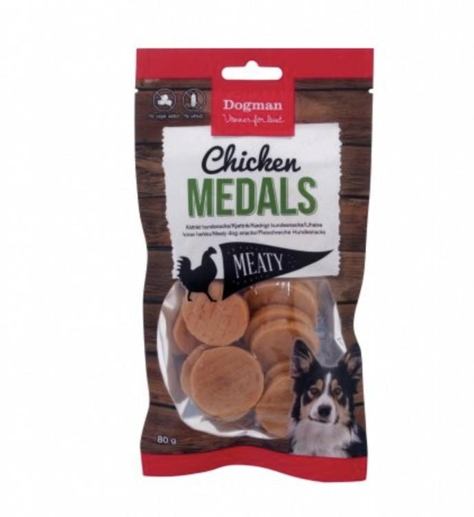 Chicken Medals 80g
