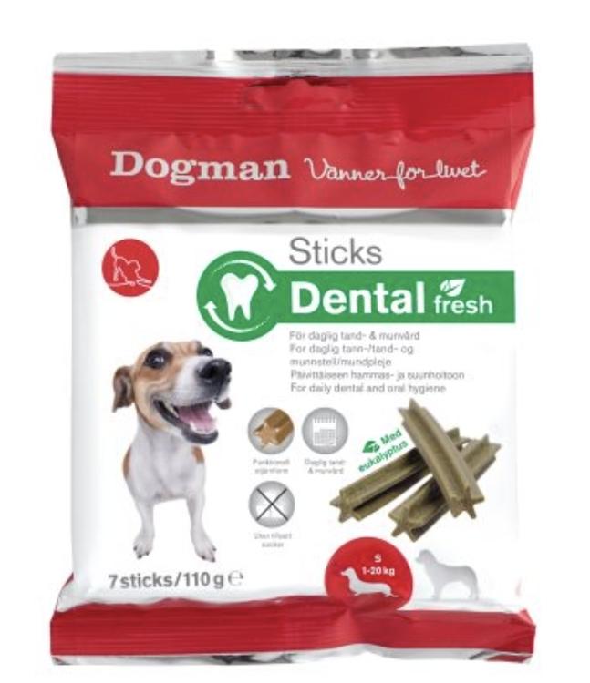 Sticks Dental Fresh 7 stk SMALL i en pakke
