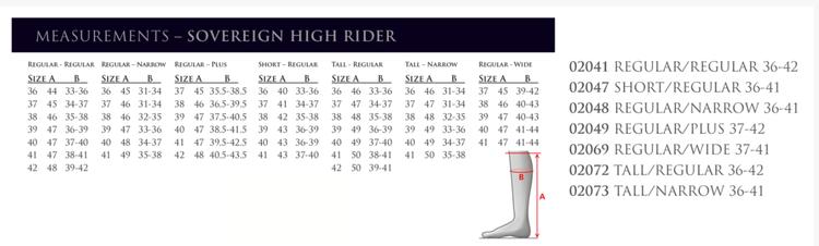 Mountain Horse Sovereign High Rider støvler