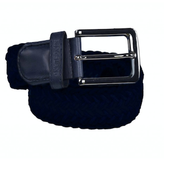 KINGSLAND TALIOS UNISEX BRAIDED BELT NAVY