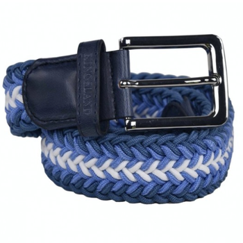 KINGSLAND TALIOS UNISEX BRAIDED BELT BLUE MOONLIGHT