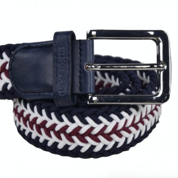 KINGSLAND TALIOS UNISEX BRAIDED BELT CREAM