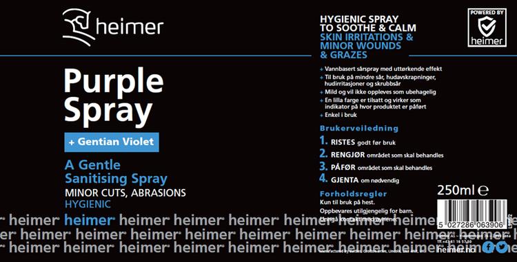 Purple spray Heimer 250ml
