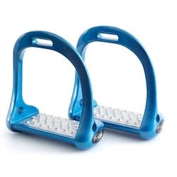 Premier Equine Jopollo Aluminium Performance Stirrups blå