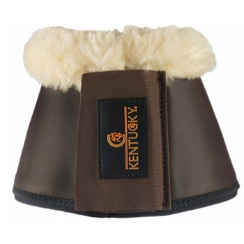 KENTUCKY OVERREACH BOOTS LEATHER SHEEPSKIN - BRUN