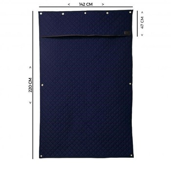 KENTUCKY STABLE CURTAIN NAVY