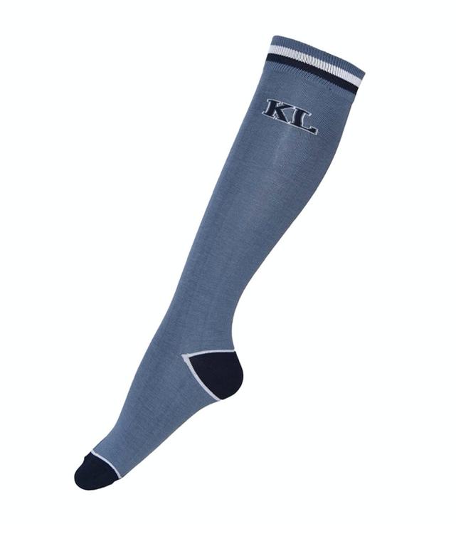 Kingsland Andre Unisex Coolmax Knee Socks - Blue China