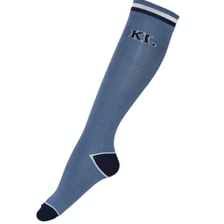 Kingsland Andre Unisex Coolmax Knee Socks - Blue China
