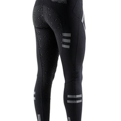 Tokyo Dame Full Seat Gel Pull On ride tights - svart