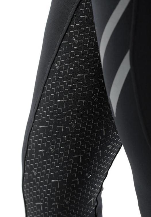Tokyo Dame Full Seat Gel Pull On ride tights - svart