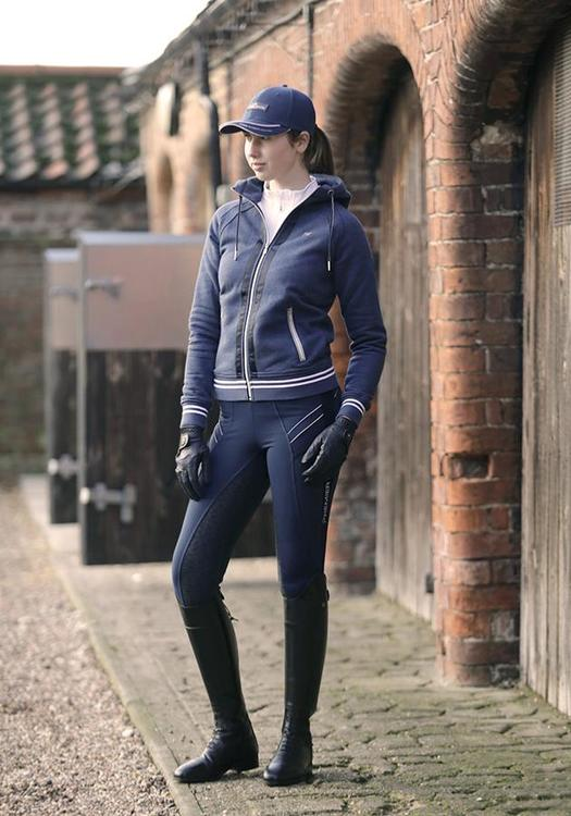 Ronia Dame Gel Pull On Ridetights - navy