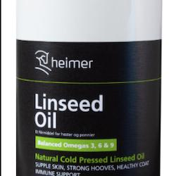 Linfrø olje fra heimer