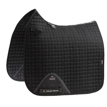 Close Contact Cotton Dressage Saddle Pad - flere farger