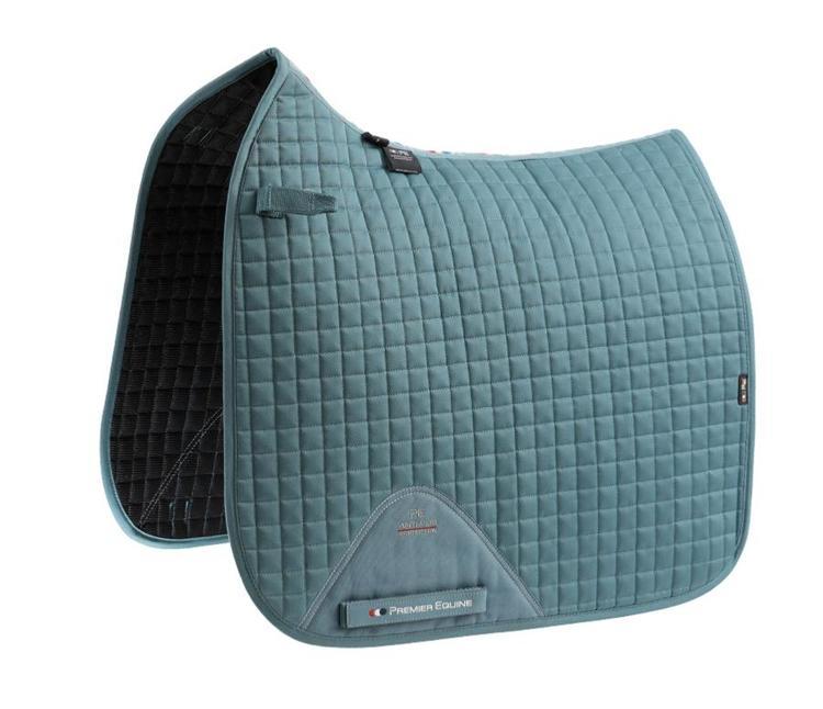 Close Contact Cotton Dressage Saddle Pad - flere farger