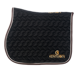 Kentucky Saddle Pad Absorb Black - jumping - full