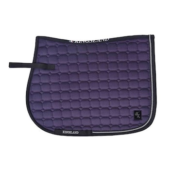 KINGSLAND DEANA SADDLE PAD W/COOLMAX (Lilac Nightshade)