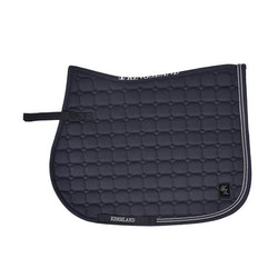 KINGSLAND DEANA SADDLE PAD W/COOLMAX (SVART)