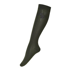 KINGSLAND DAPHNE LADIES COOLMAX KNEE SOCKS (GREEN)