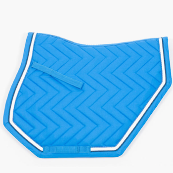 "Saddle pad ""Transformer"", all purpose - blå"