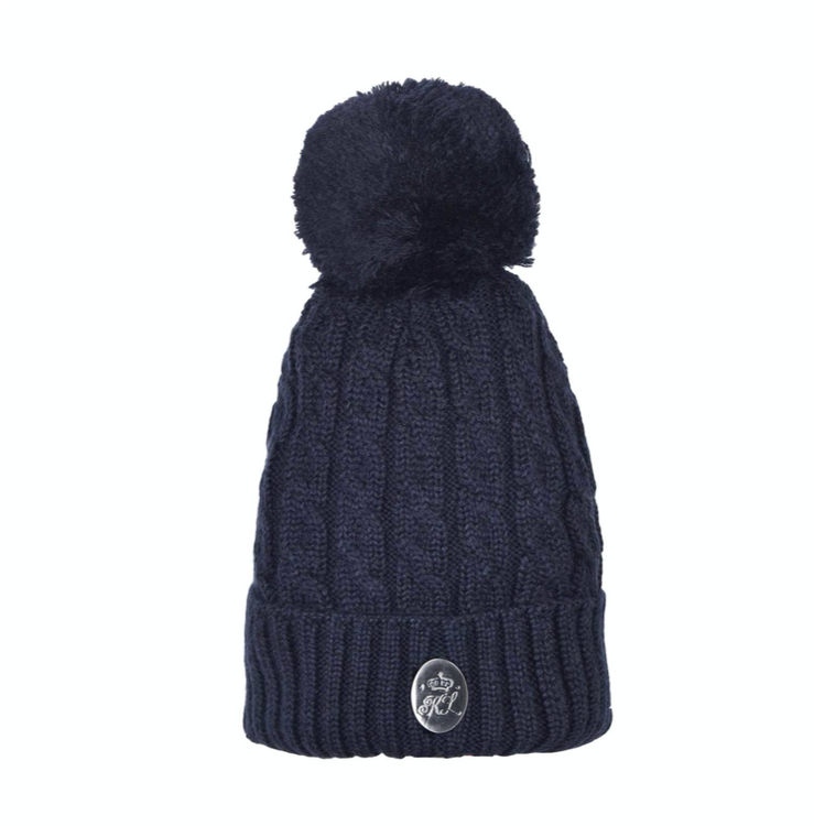 KINGSLAND DOT LADIES CABLE KNITTTED HAT