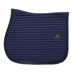 KENTUCKY SADDLE PAD PEARLS SHOW NAVY DRESSUR