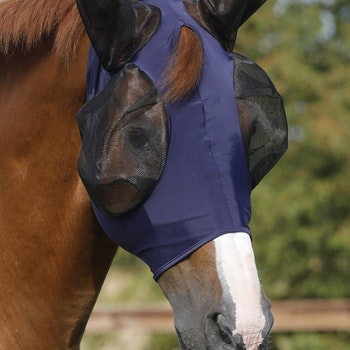 Comfort Tech Lycra Fly Mask - navy