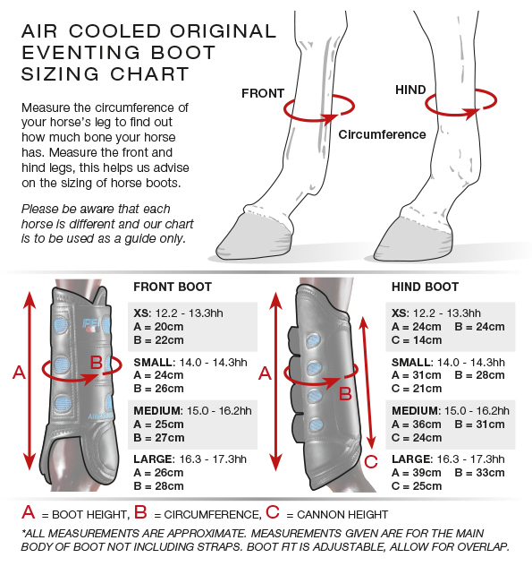 Air-Cooled Original Eventing Boots