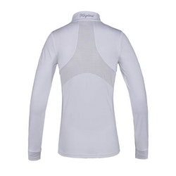 KINGSLAND DARLENE LADIES SHOW SHIRT - WHITE