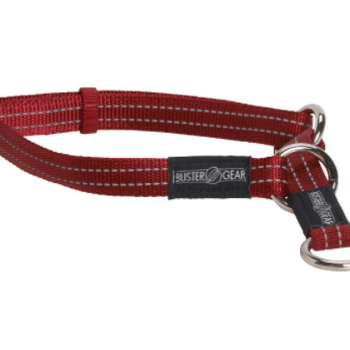 BUSTER reflective choker, 15x280-400 mm, red
