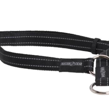 BUSTER reflective choker, 25x450-650 mm, black