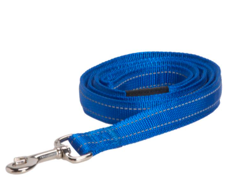 BUSTER reflective lead, 25x1400 mm, blue