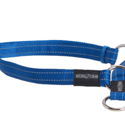BUSTER reflective choker, 15x280-400 mm, blue