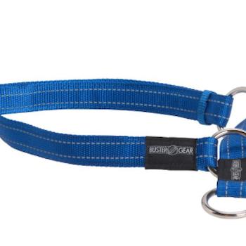 BUSTER reflective choker, 15x280-400 mm, blue
