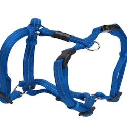 BUSTER Gear H-sele m/refleks, 10x300-500mm, Blå