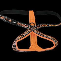 Hurtta Lifeguard Dog Y-Harness Neon Orange