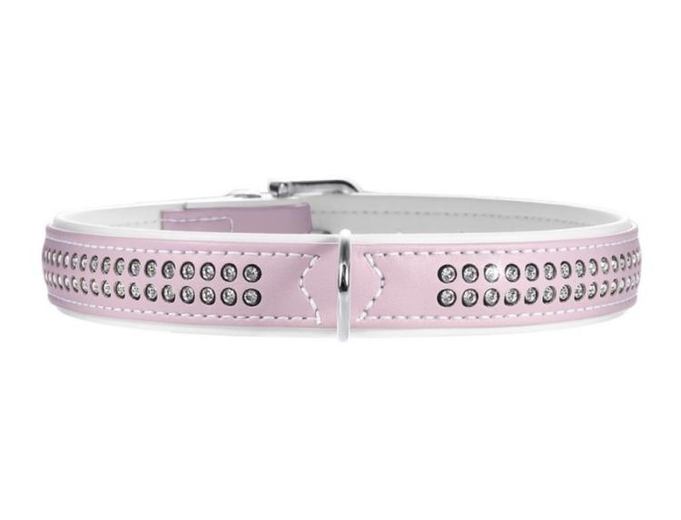 Hunter light pink med Swarovski steiner - 44-50cm